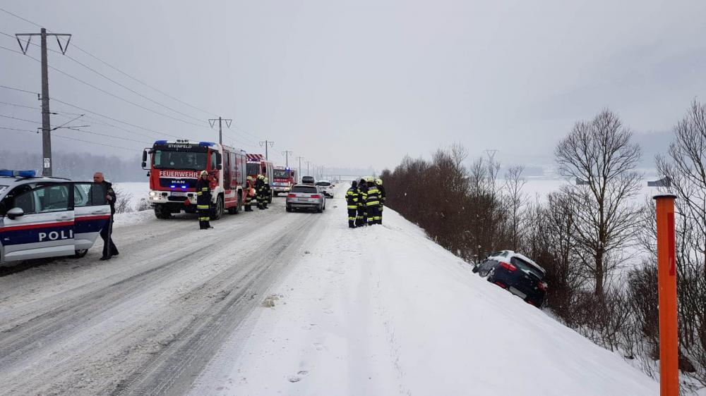 Verkehrsunfall in Steinfeld
