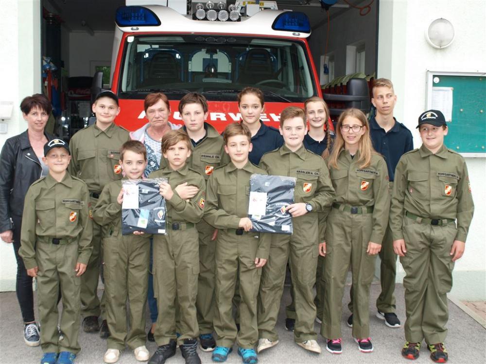 T-Shirts für die Feuerwehrjugend